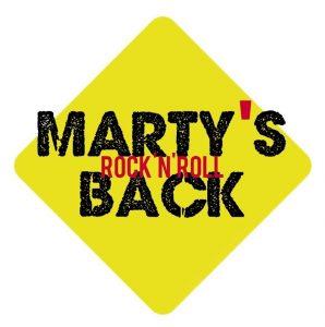 Logo Marty's Back